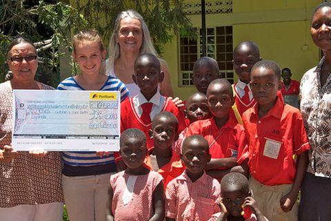 Hoffnung für Waisenkinder in Uganda