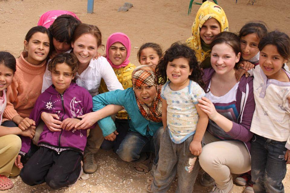 Za'atari: Ein Flüchtlingslager in der Wüste