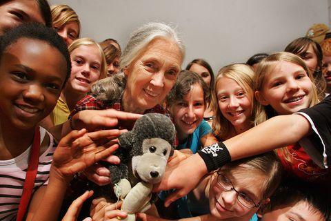 Jane Goodall: Ein Leben für den Naturschutz