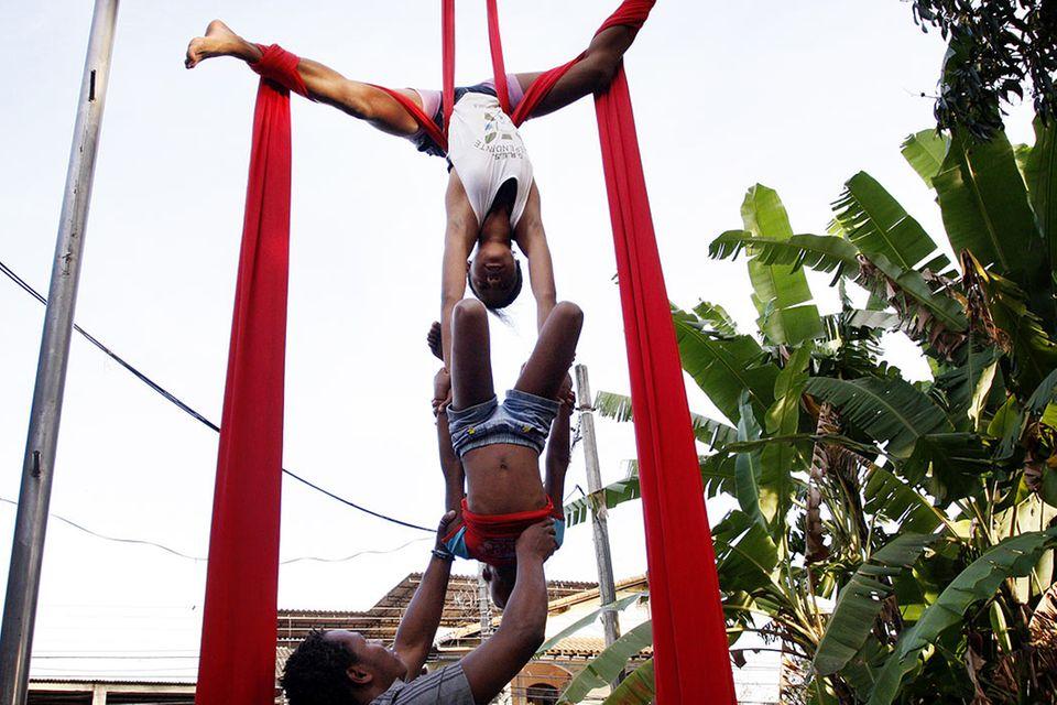 UNICEF-Fotoshow: Brasilien - Janina will hoch hinaus