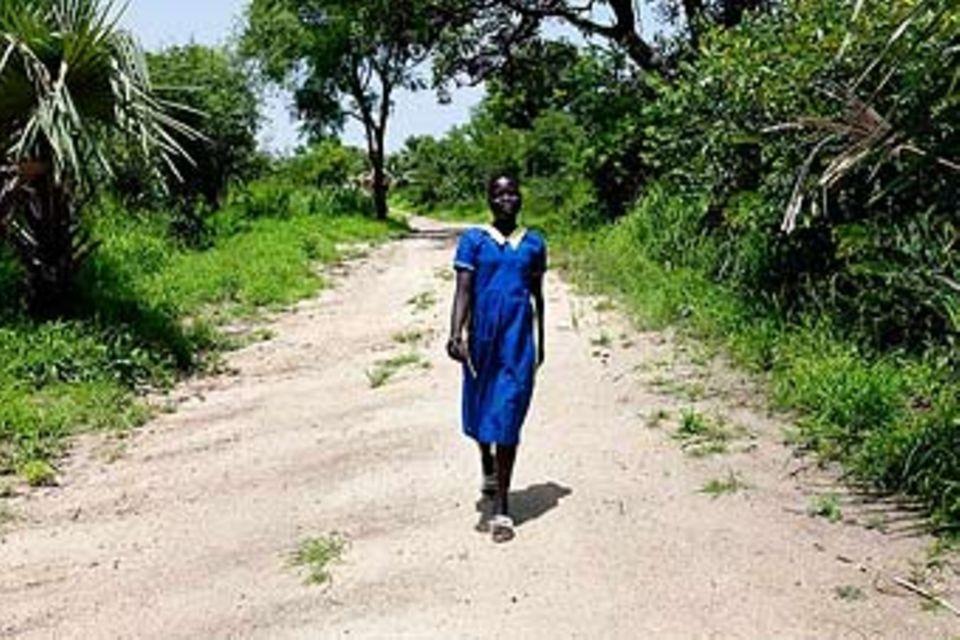 UNICEF-Fotoshow: Sudan - Margis geht ihren Weg