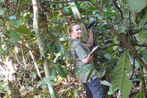 Beruf: Waldschützerin / Tierschützerin
