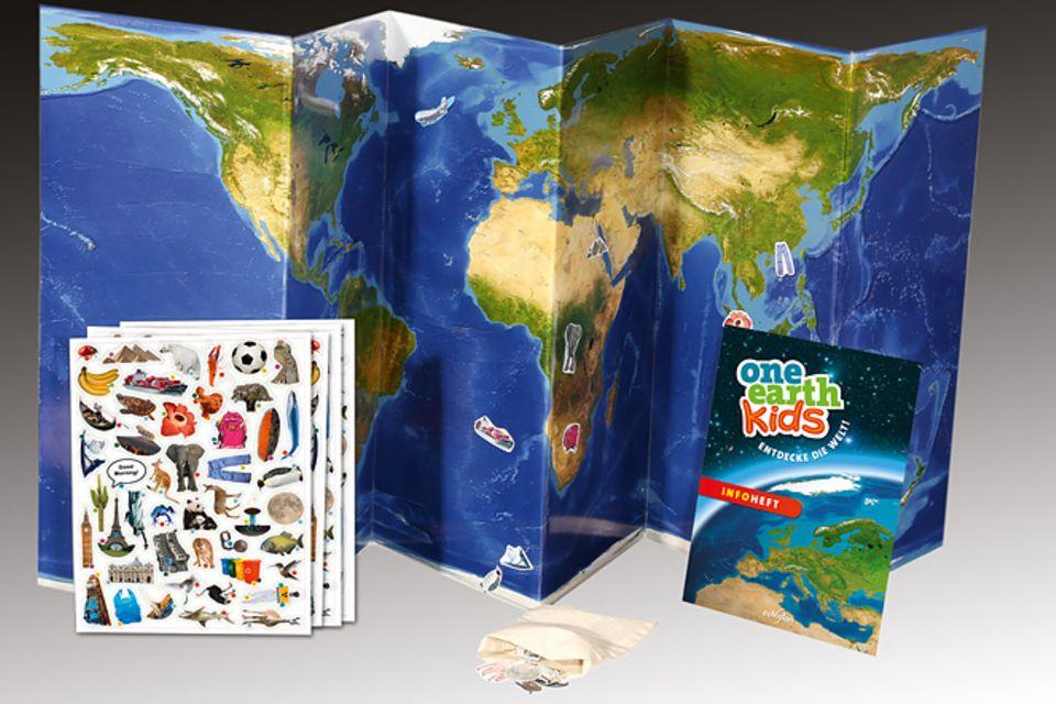 Magnetspielbuch: Buchtipp: One Earth Kids - Entdecke die Welt!