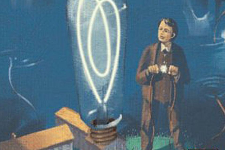 Hörbuchtipp: Hörbuchtipp: Edison und die Erfindung des Lichts