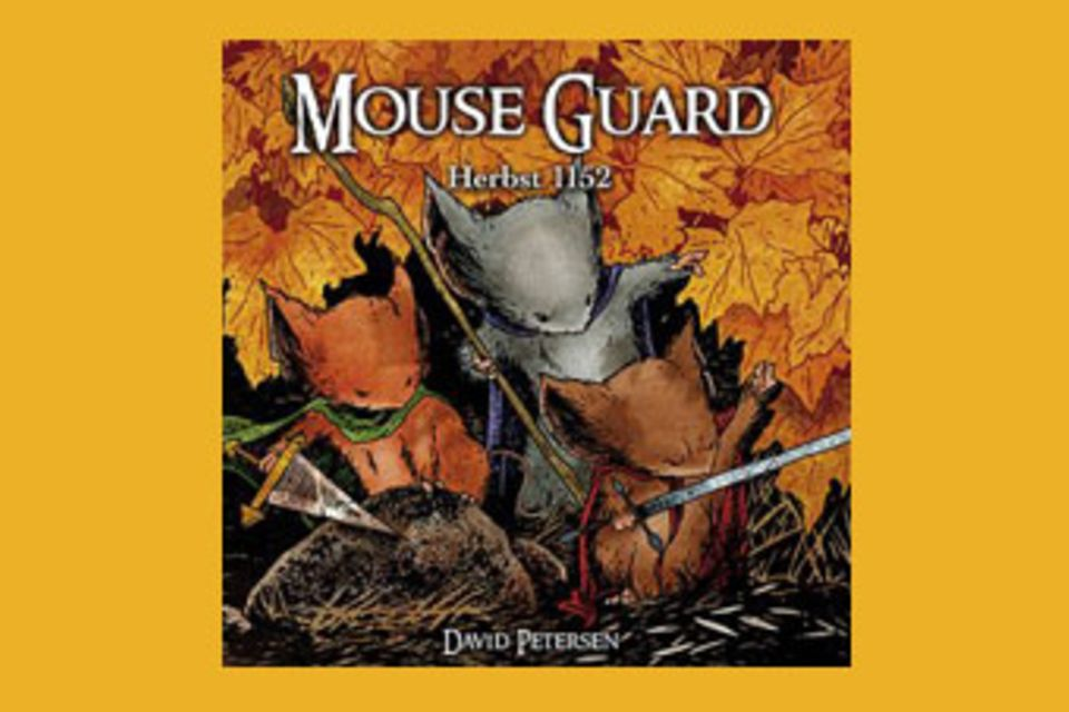 Buchtipp: Buchtipp: Mouse Guard - Ein Comic über mutige Mäuse