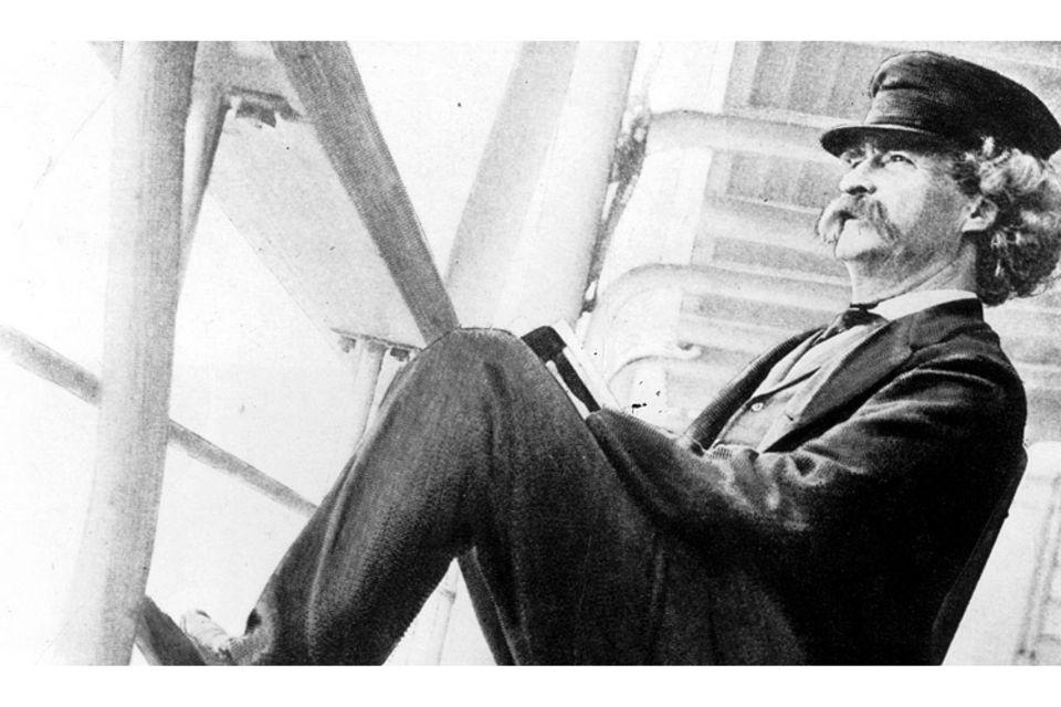 Schriftsteller: Mark Twain: Aus dem Leben eines Lausbuben