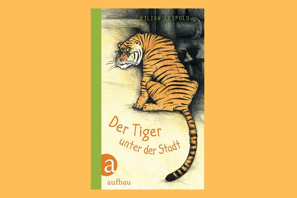 """Roman: """"Der Tiger unter der Stadt"""" von Kilian Leypold"""