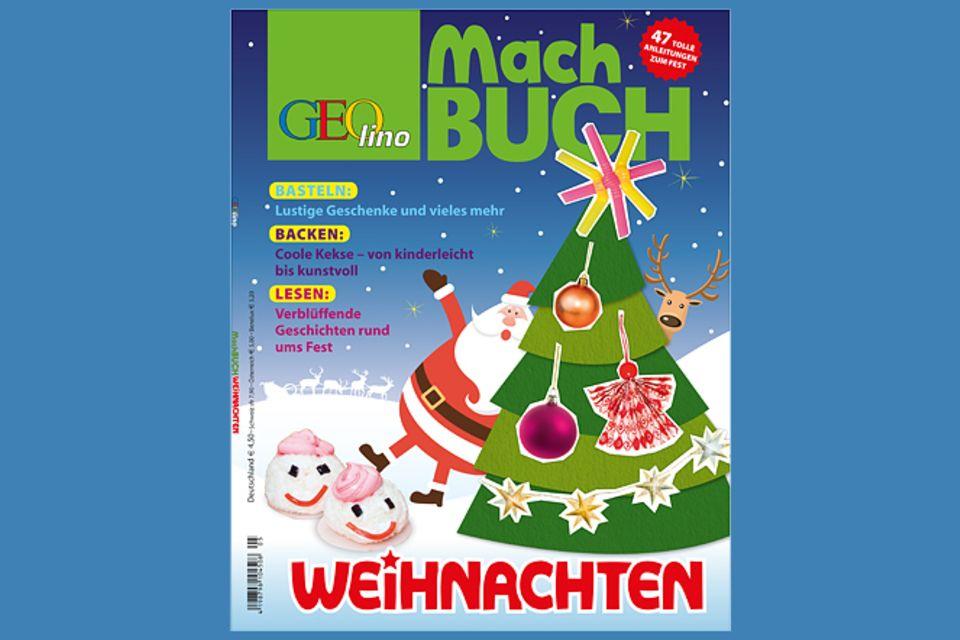 Buchtipp: Das GEOlino-Machbuch: Weihnachten