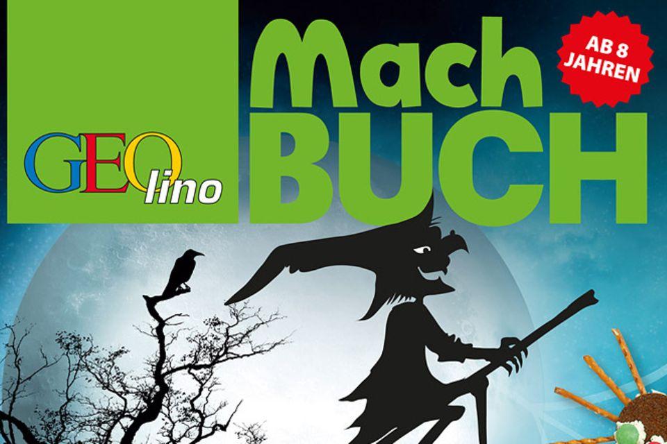 Buchtipp: Das GEOlino-Machbuch: Halloween