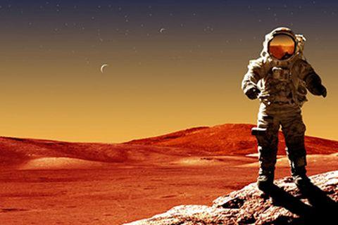 Weltraum: Der Mars: eine neue Heimat?