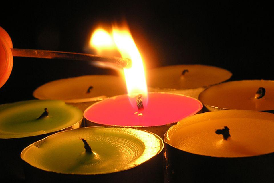 Gib mir fünf: Fünfmal staunen über Kerzen