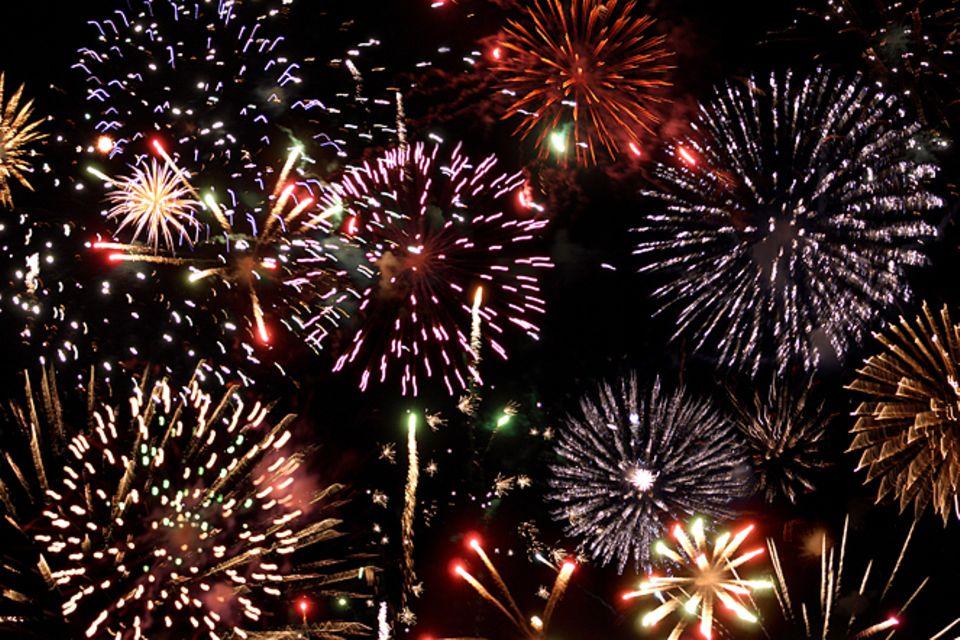 Silvester: Fünfmal staunen über Feuerwerk