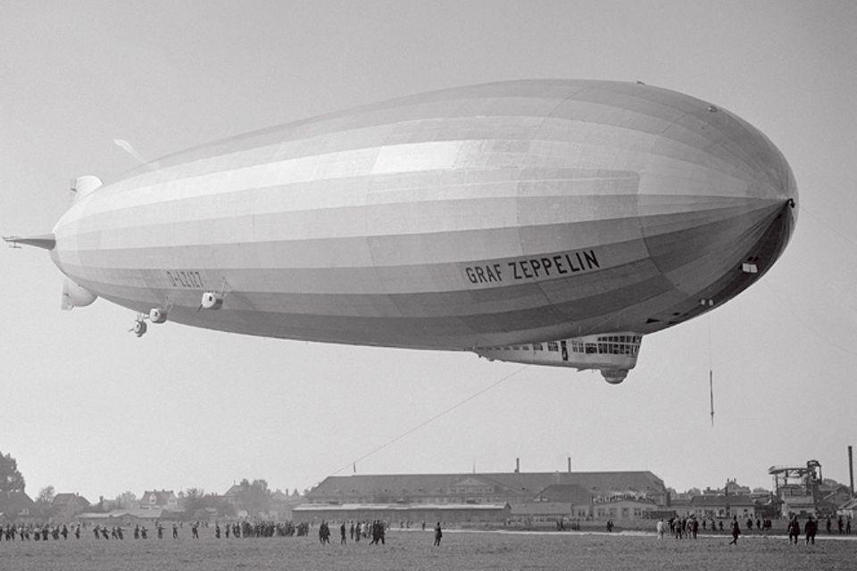 Luftschiffe: Zeppeline: Giganten des Himmels