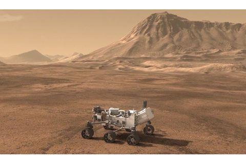 Weltraum: Curiosity's Reise zum Mars