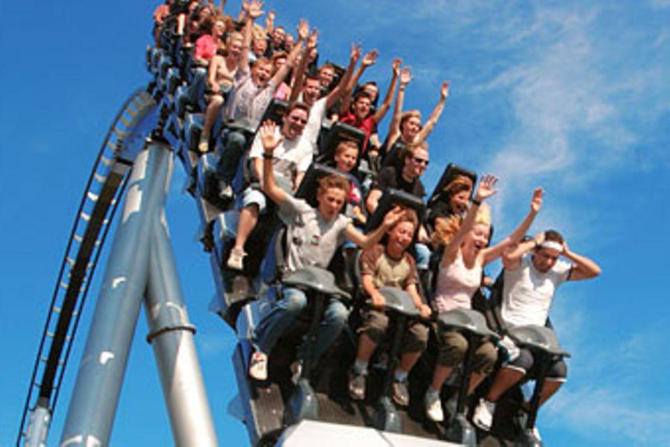 Freizeitparks: Achterbahnen: Rein ins Vergnügen!