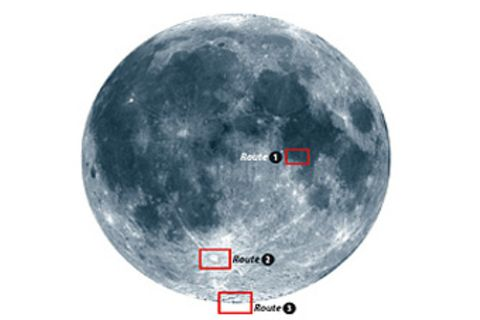 Kleiner Reiseführer zum Mond