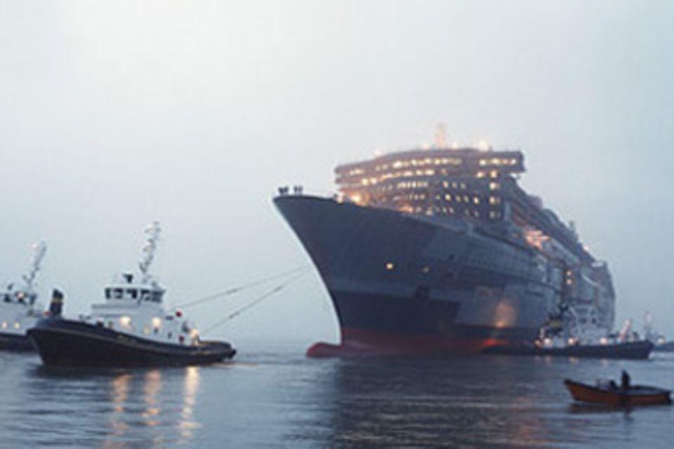 Wie die Queen Mary 2 gebaut wurde