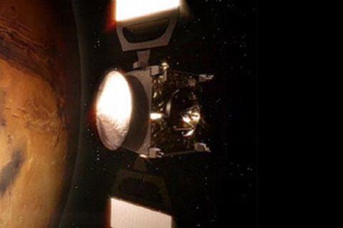 Farbfotos vom Mars