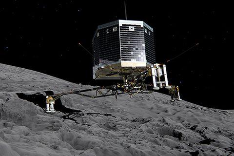 Roboter im Weltraum: Rosetta hat es geschafft: Philae ist gelandet!