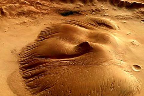 Mars: Fotoshow: Der Rote Planet