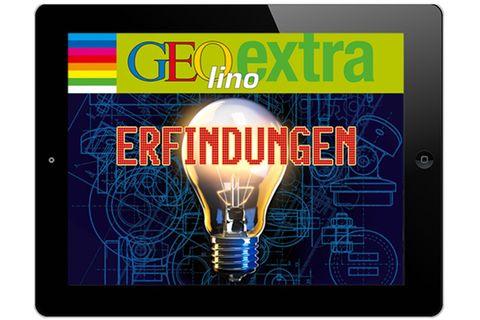 App: GEOlino extra Erfindungen fürs iPad und Tablet!
