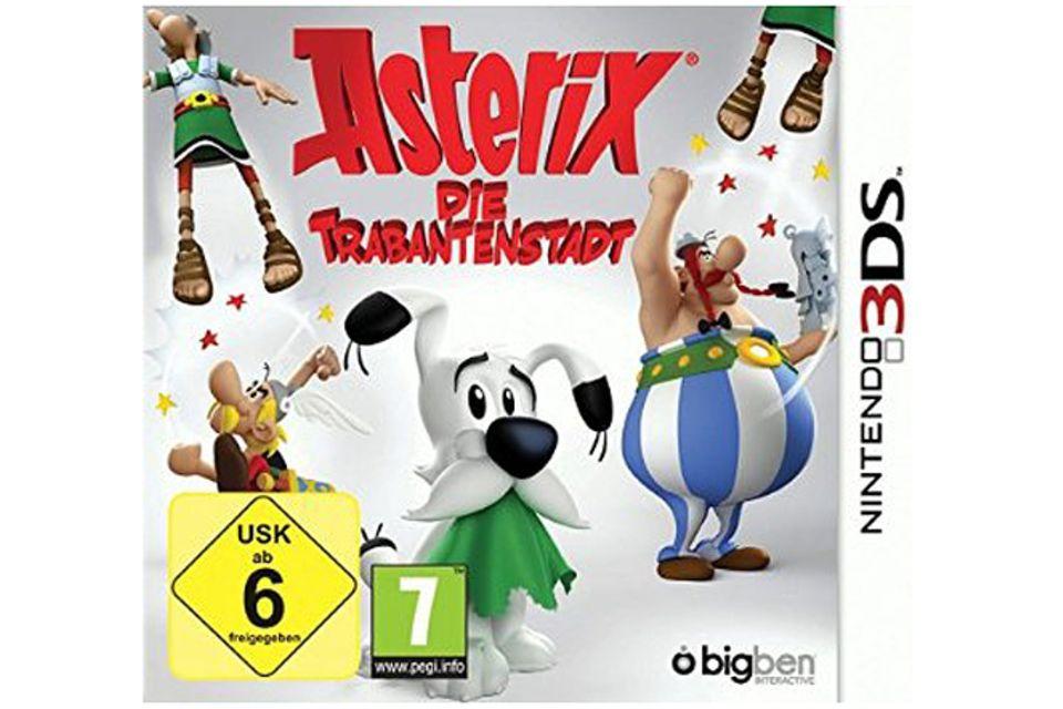 Spieletest: Spieltipp: Asterix - die Trabantenstadt