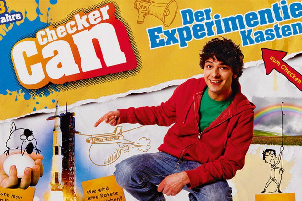 Spieltipp: Checker Can - Der Experimentierkasten