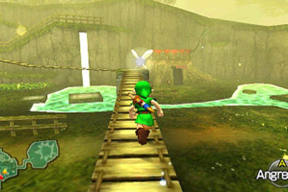 """Spieletest: Aus alt mach neu: Zeldas """"Ocarina of Time"""""""