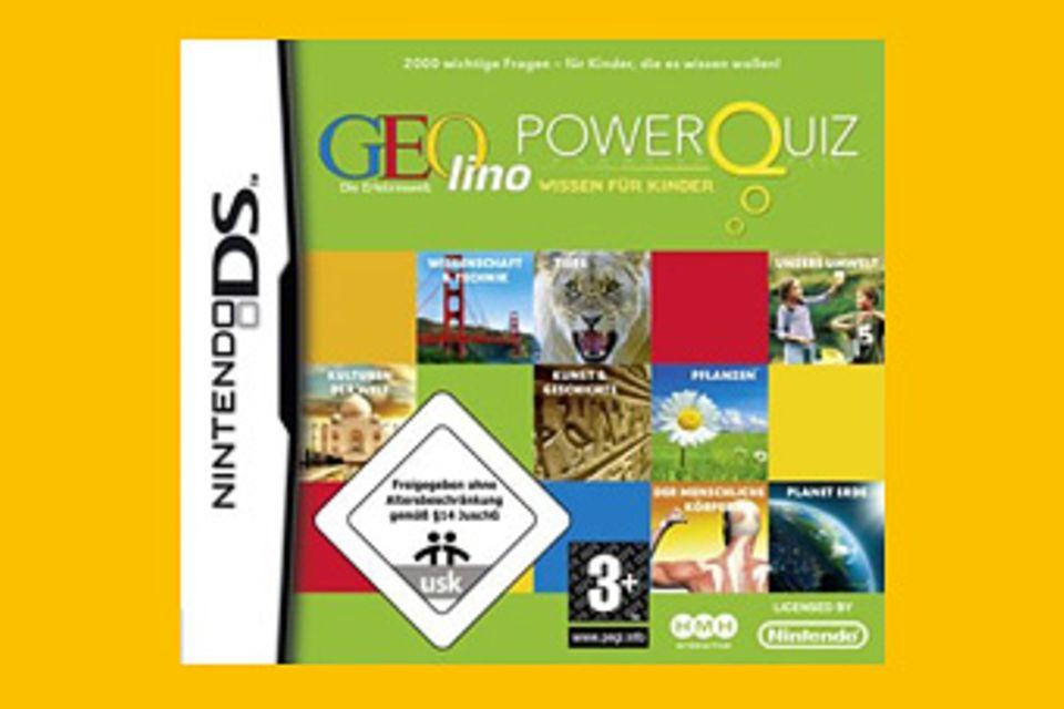 Spieletipp: Geolino Powerquiz