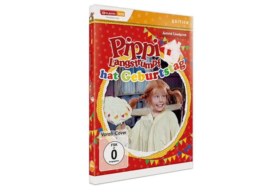 Gewinnspiel: DVD-Tipp: Pippi feiert Geburtstag
