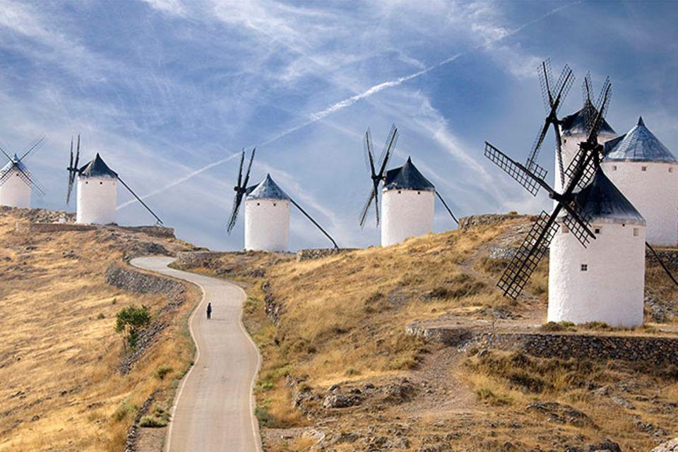 Redewendung: Gegen Windmühlen kämpfen