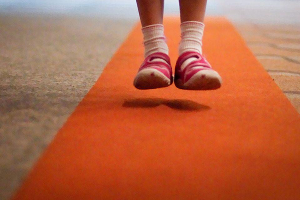 Redewendung: Auf dem Teppich bleiben