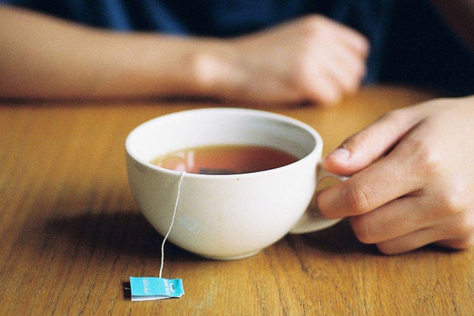Redewendung: Abwarten und Tee trinken