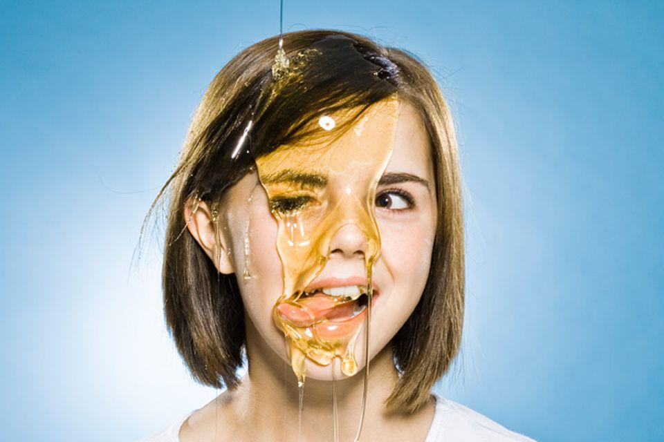 Redewendung: Honig ums Maul schmieren