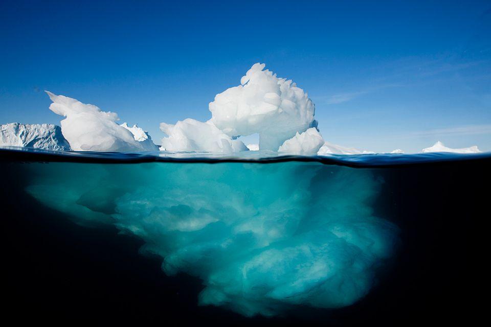 Redewendung: Die Spitze des Eisbergs