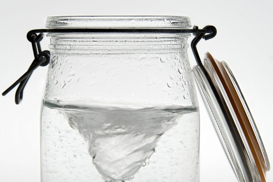 Redewendung: Sturm im Wasserglas