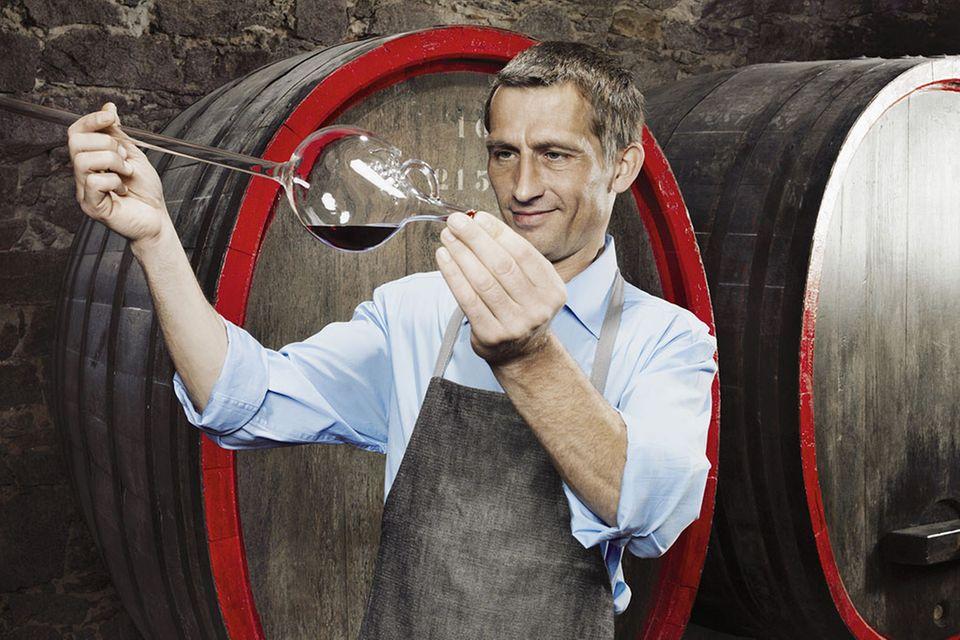 Redewendung: Reinen Wein einschenken