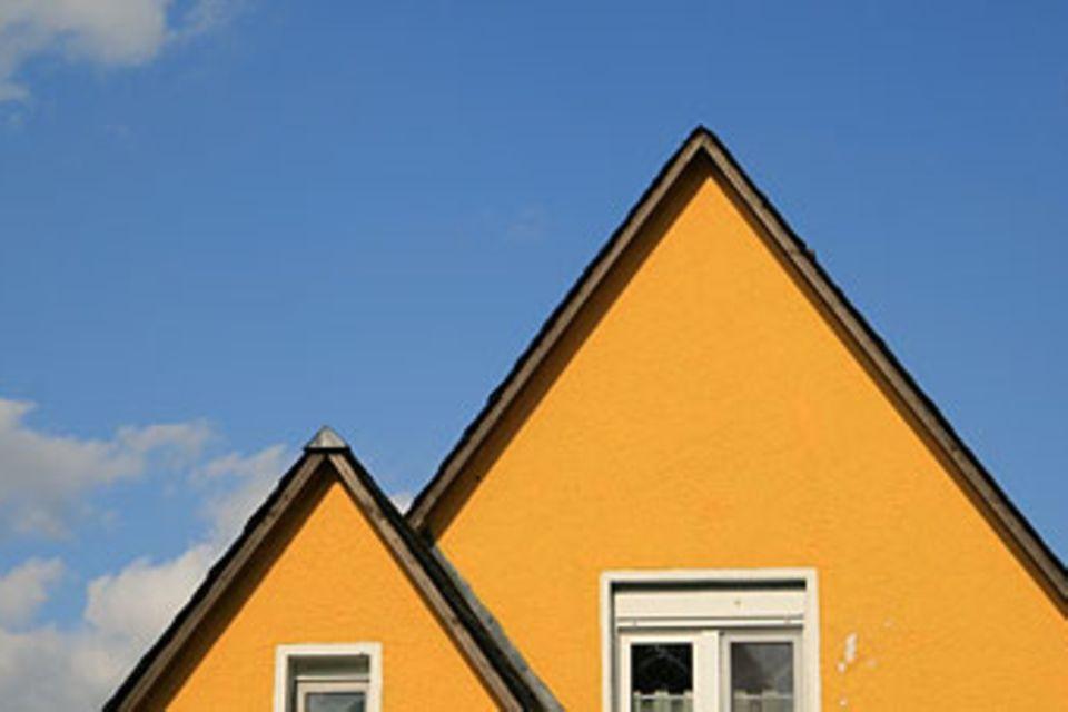 Redewendung: Unter Dach und Fach