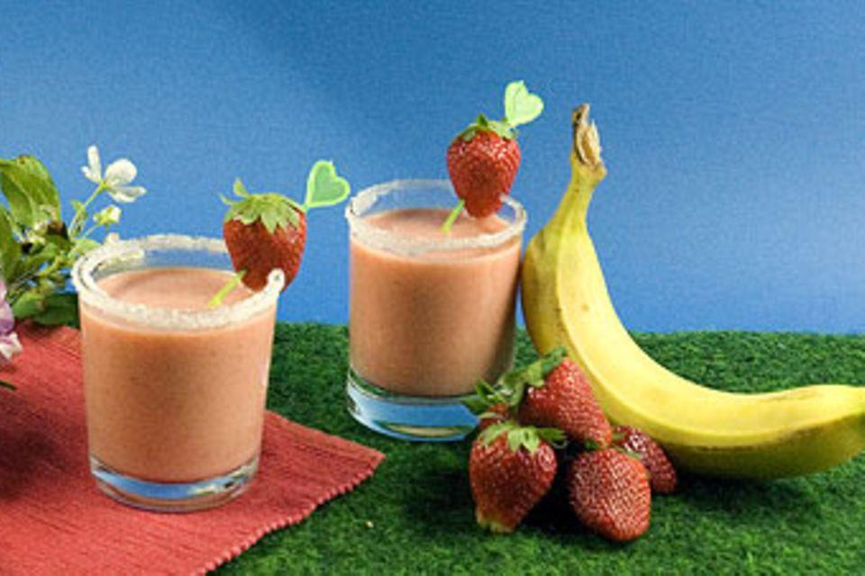 Rezept: Erdbeeren im Glas