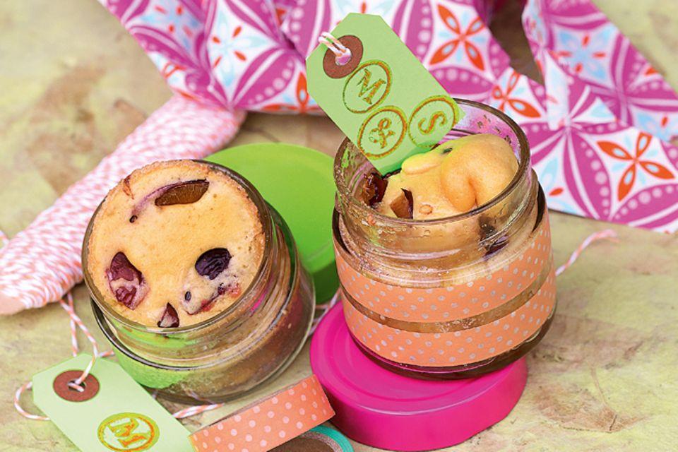 Rezept: Mini-Kuchen im Glas