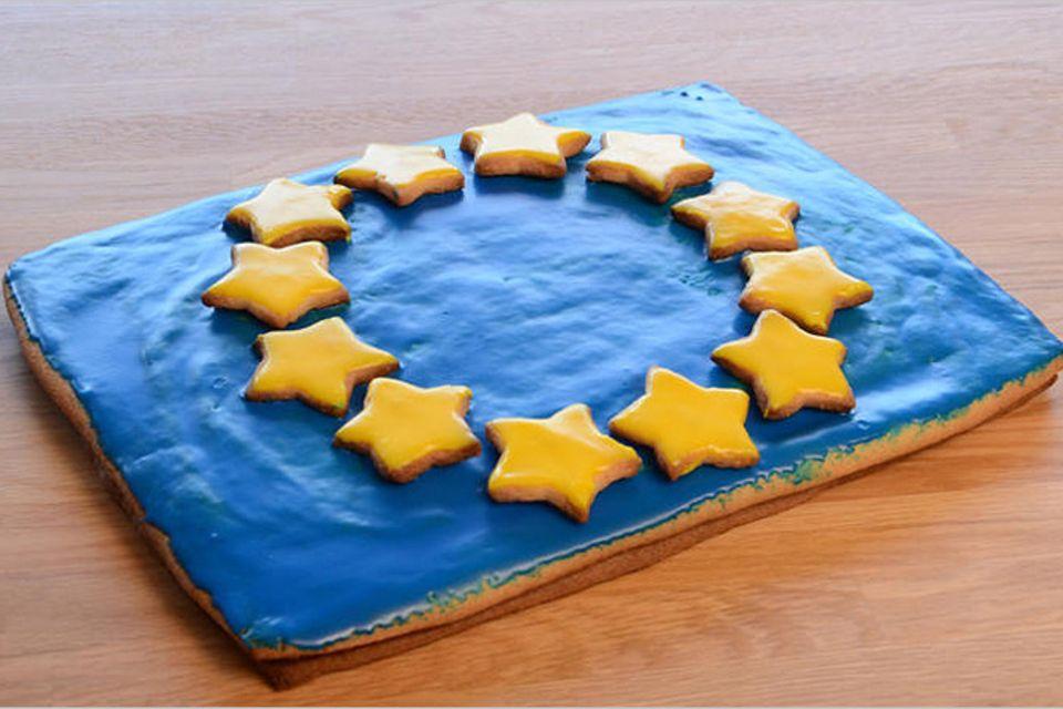 Rezept: Europa-Knusper-Flagge