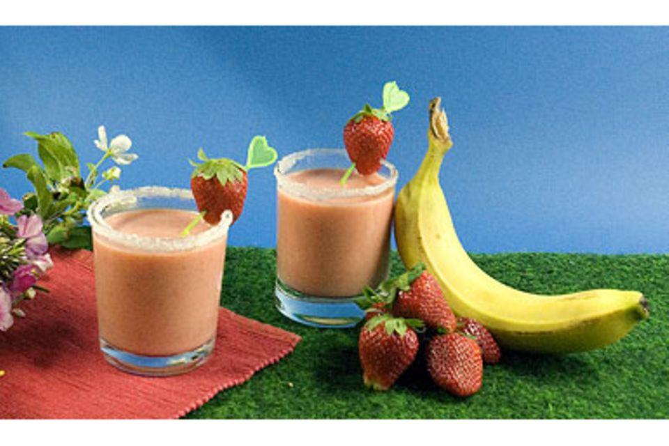 Rezept: Erdbeeren im Blätterteigmantel