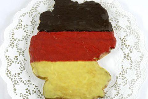 Rezept: Deutschland-Kuchen