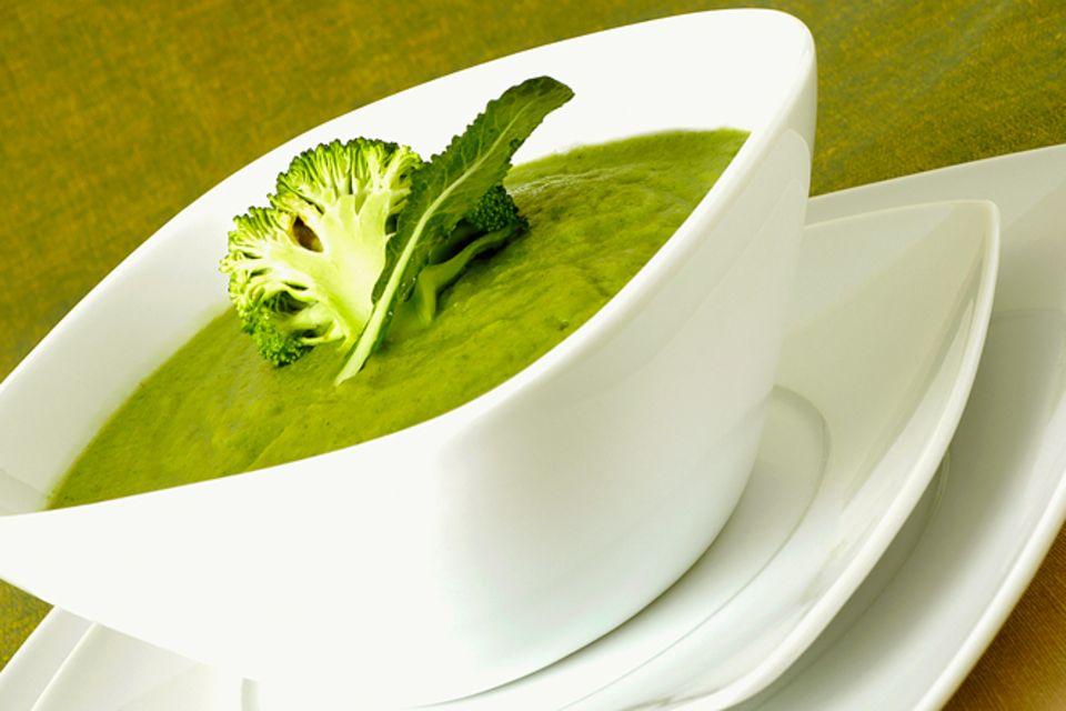 Rezept: Blumenkohl-Brokkoli-Suppe