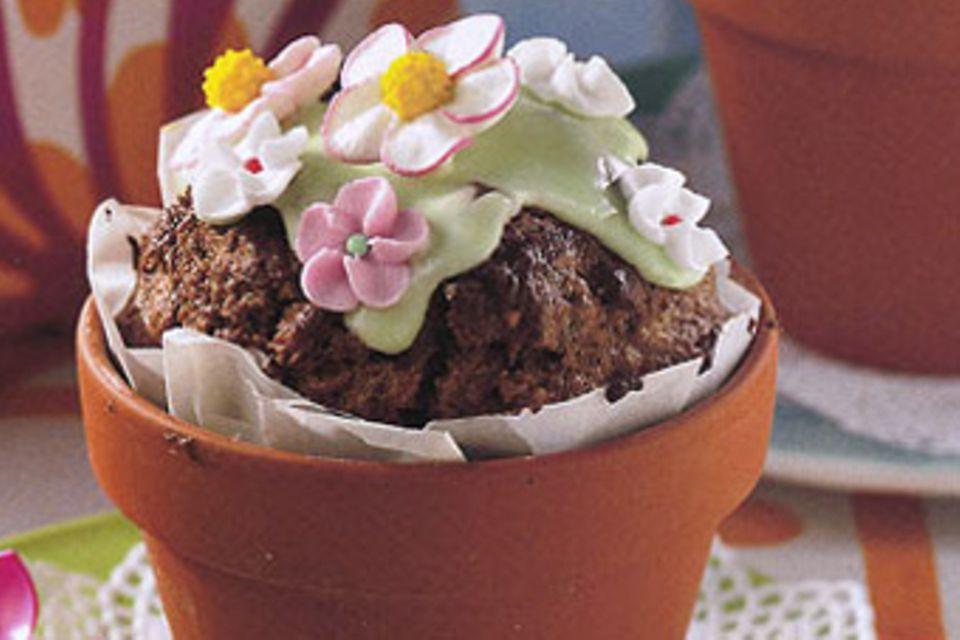Rezept: Blumentopf-Kuchen