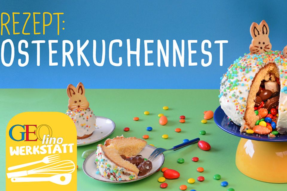 Backen: Osterkuchennest backen