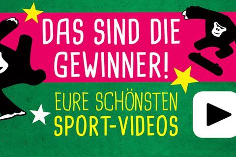 Wettbewerb: Schickt uns eure Sporttricks!