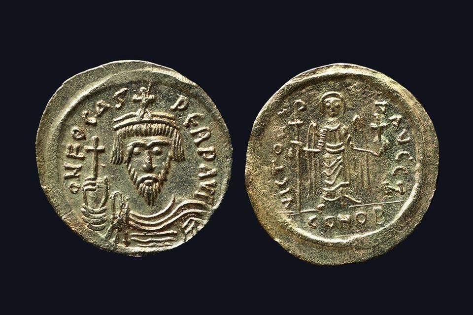 Münzen des byzantinischen Reiches