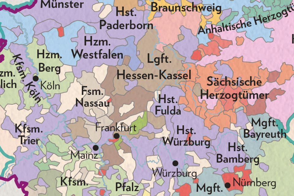 Deutschland um 1800