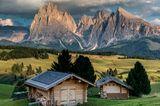 Langkofel und Plattkofel, Italien